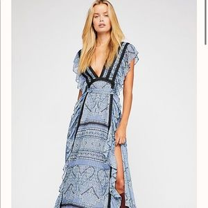 NWT free people spell bound dress